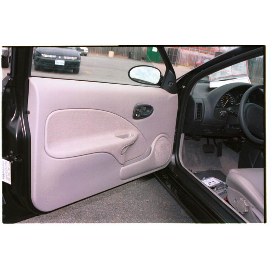1998 Saturn SC2 Front door speaker location