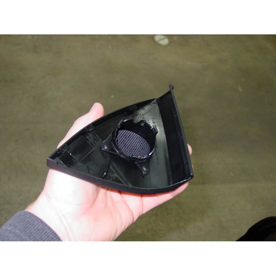 2010 Mercedes-Benz C-Class Front door tweeter removed