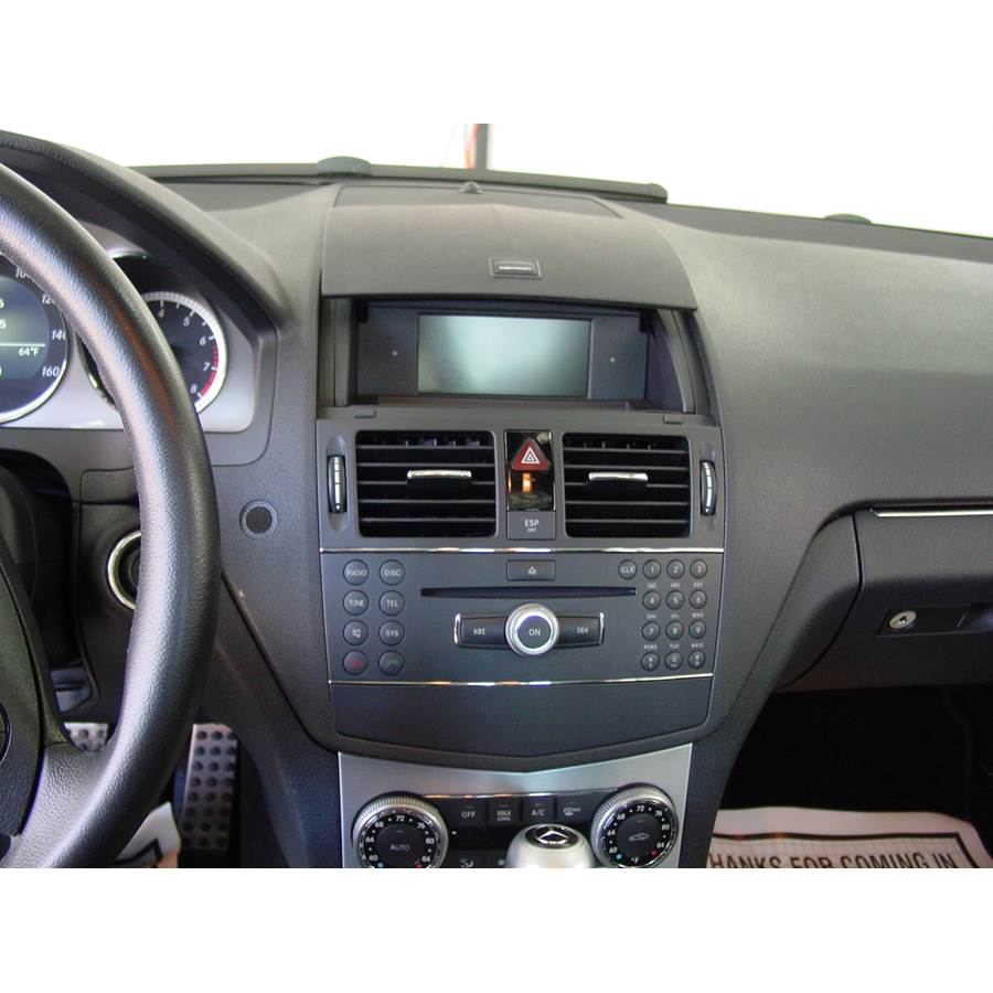 2010 Mercedes-Benz C-Class Factory Radio