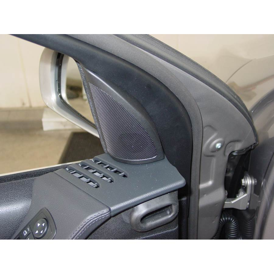 2007 Mercedes-Benz R-Class Front door tweeter location