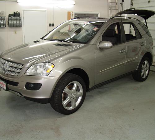 2009 mercedes benz ml550 find speakers stereos and for Mercedes benz exterior car care kit