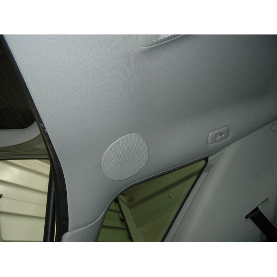 2008 Mercedes-Benz ML550 Rear roof speaker location