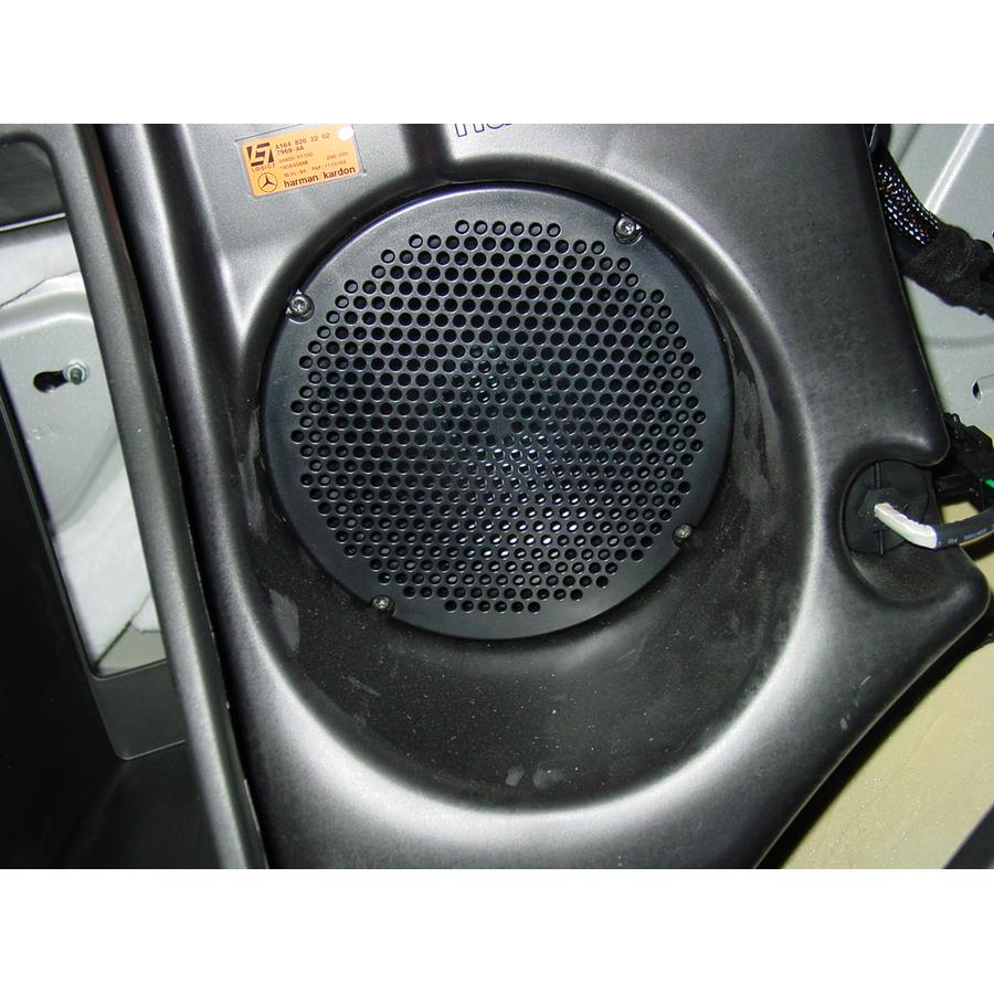 2011 Mercedes-Benz ML550 Far-rear side speaker