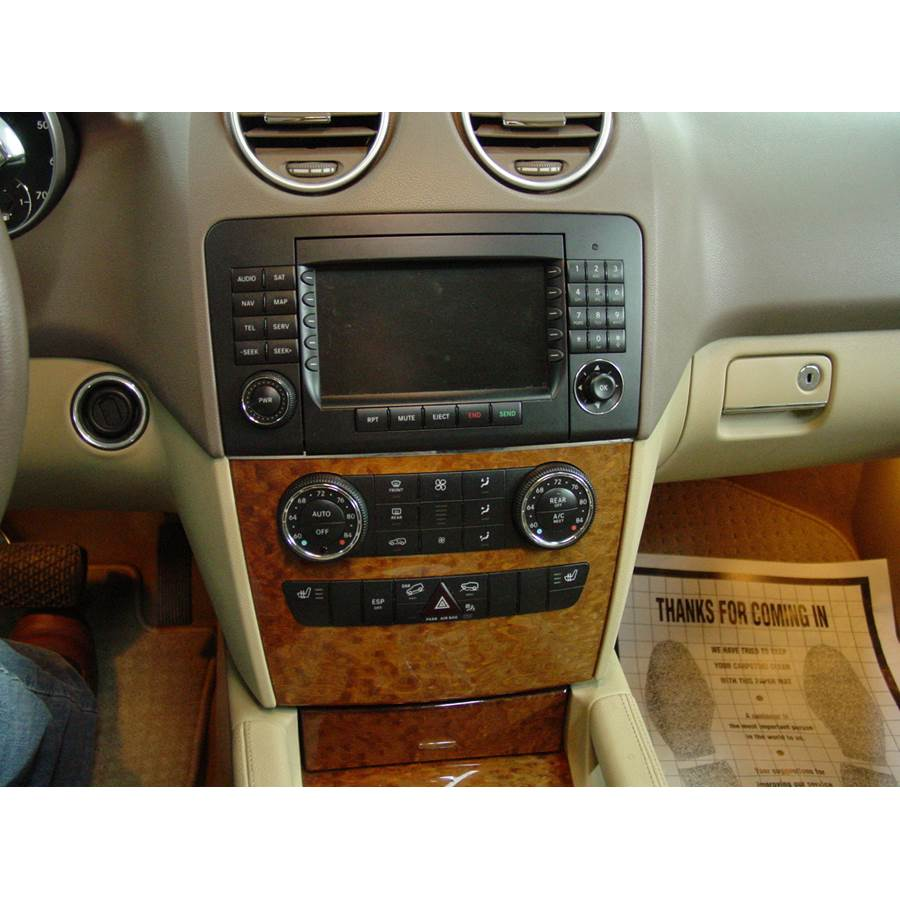 2008 Mercedes-Benz ML550 Factory Radio