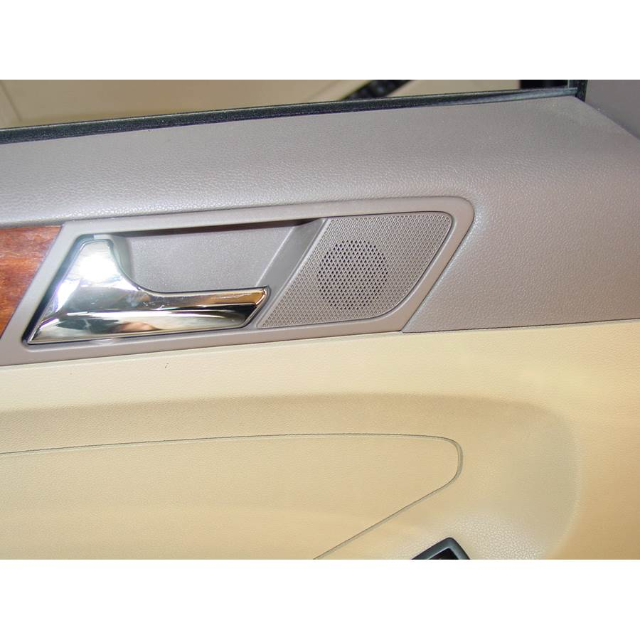 2008 Mercedes-Benz ML550 Rear door tweeter location