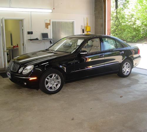 2003 mercedes benz e class find speakers stereos and for Mercedes benz exterior car care kit