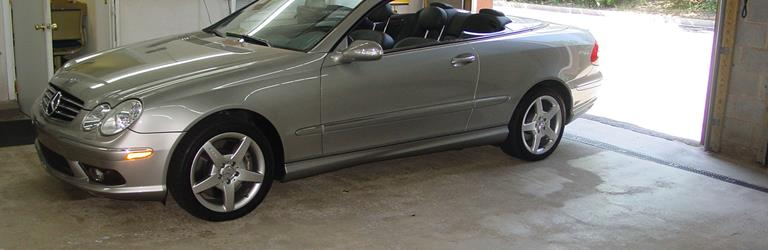 2007 mercedes benz clk class find speakers stereos and for Mercedes benz exterior car care kit
