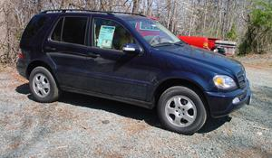 2002 Mercedes-Benz ML320 Exterior