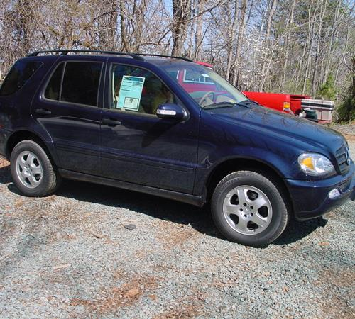 2001 Mercedes-Benz ML430 Exterior