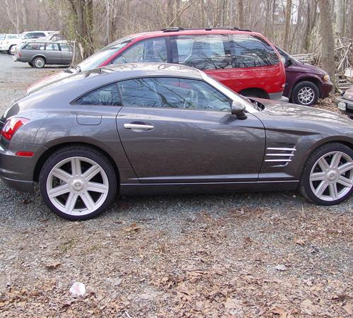 2005 Chrysler Crossfire Exterior
