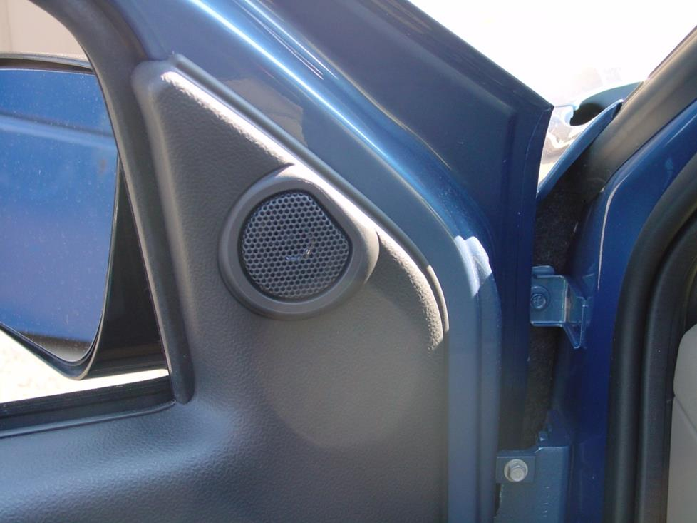 2001-2005 Pontiac Aztek Car Audio Profile on