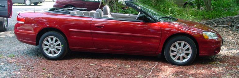 2002 chrysler sebring exterior 2002 chrysler sebring exterior