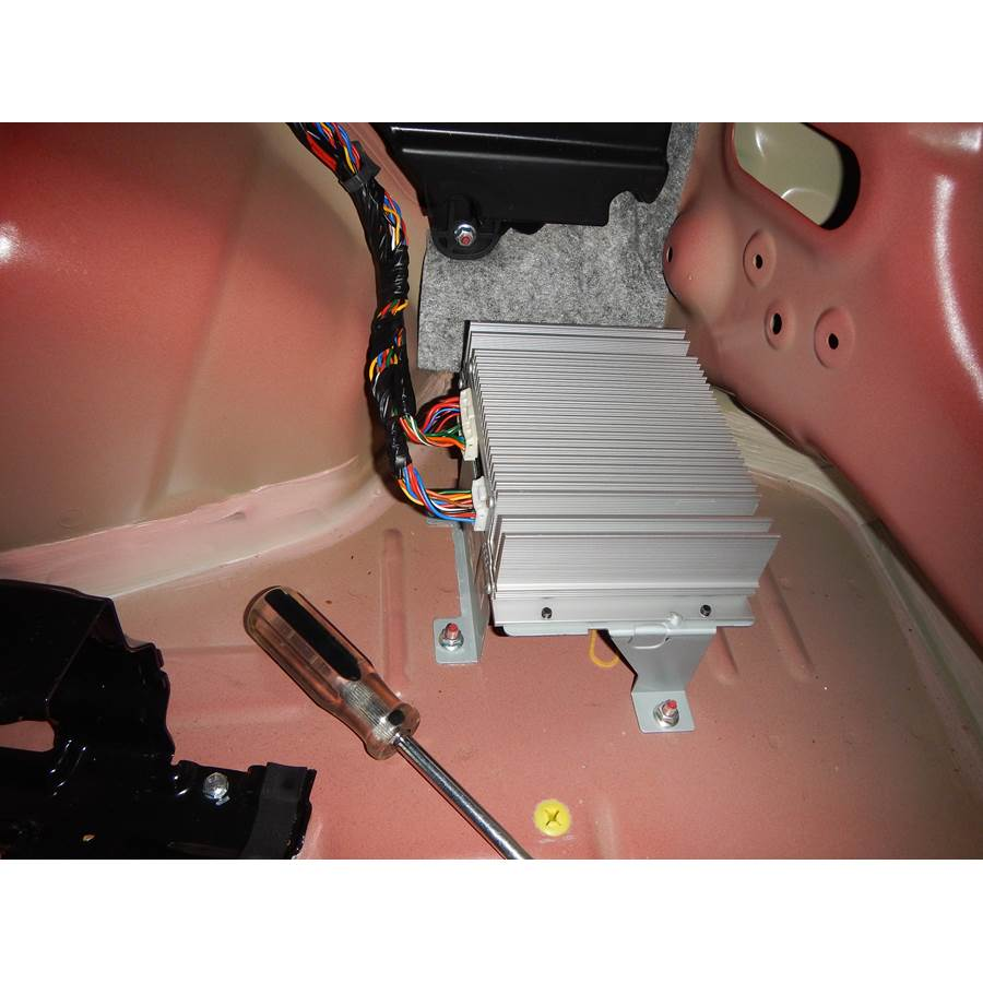 2015 Kia Sportage Factory amplifier