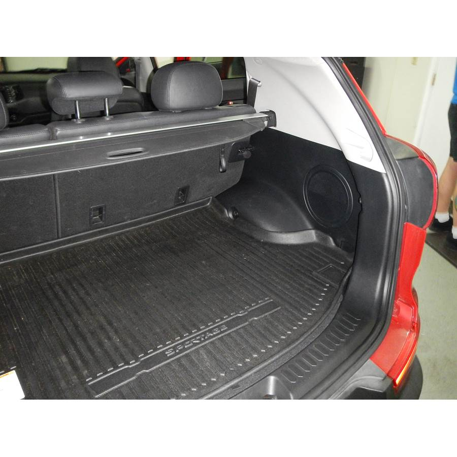 2015 Kia Sportage Far-rear side speaker location