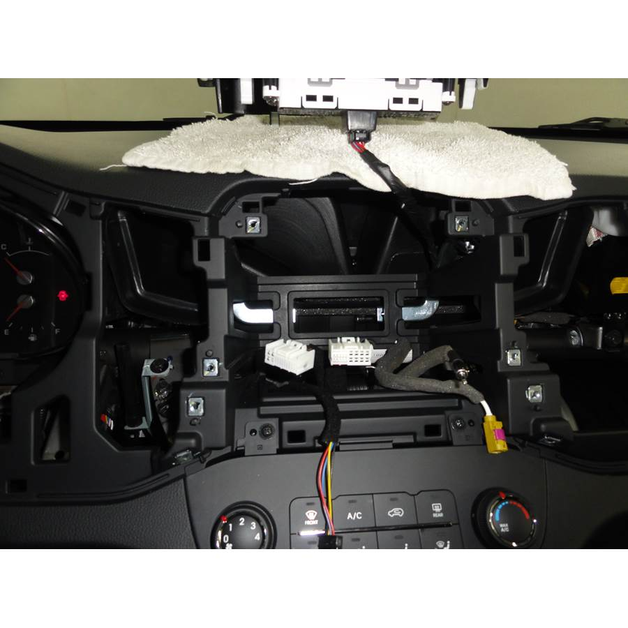 2015 Kia Sportage Factory radio removed