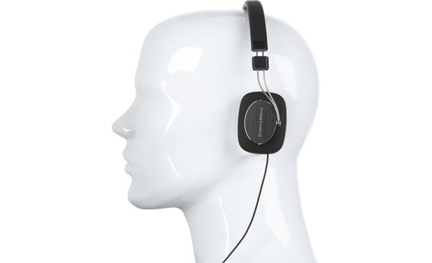 Bowers & Wilkins P3 Mannequin shown for fit and scale