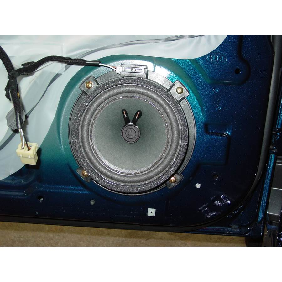 2008 Kia Optima Front door woofer