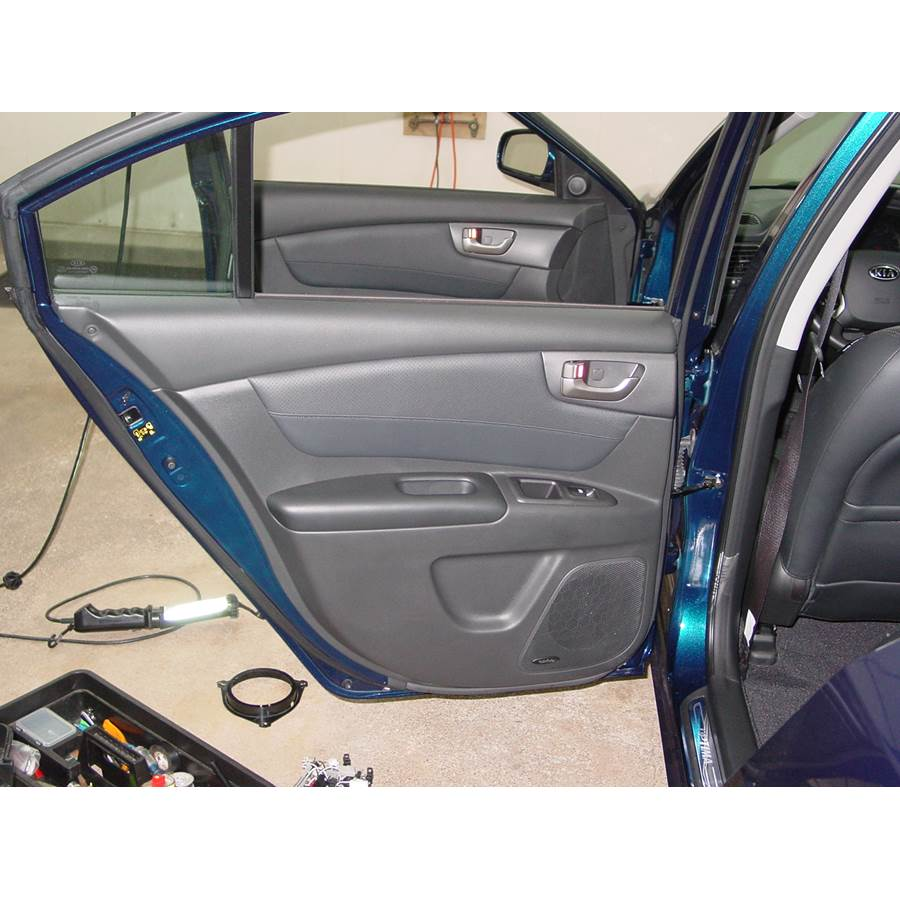 2008 Kia Optima Rear door speaker location