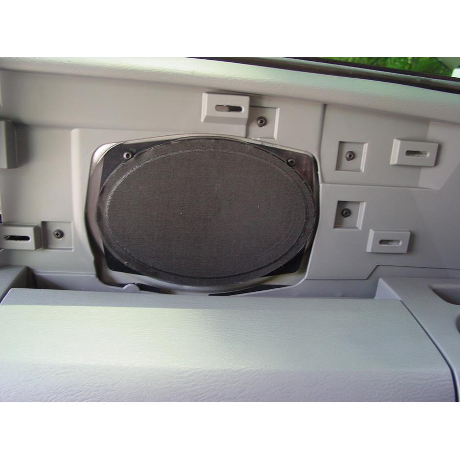 2003 Chrysler Voyager Far-rear side speaker