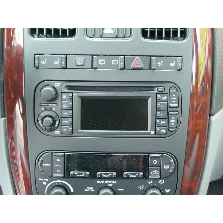 2003 Chrysler Voyager Factory Radio