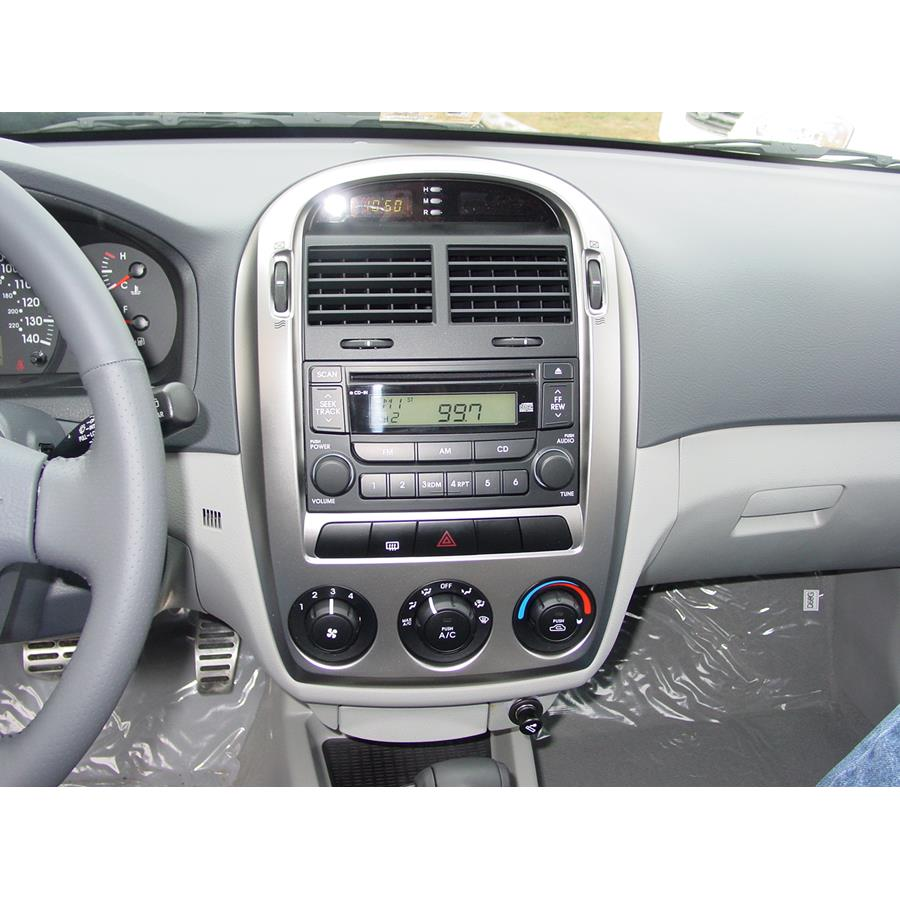 2007 Kia Spectra Other factory radio option