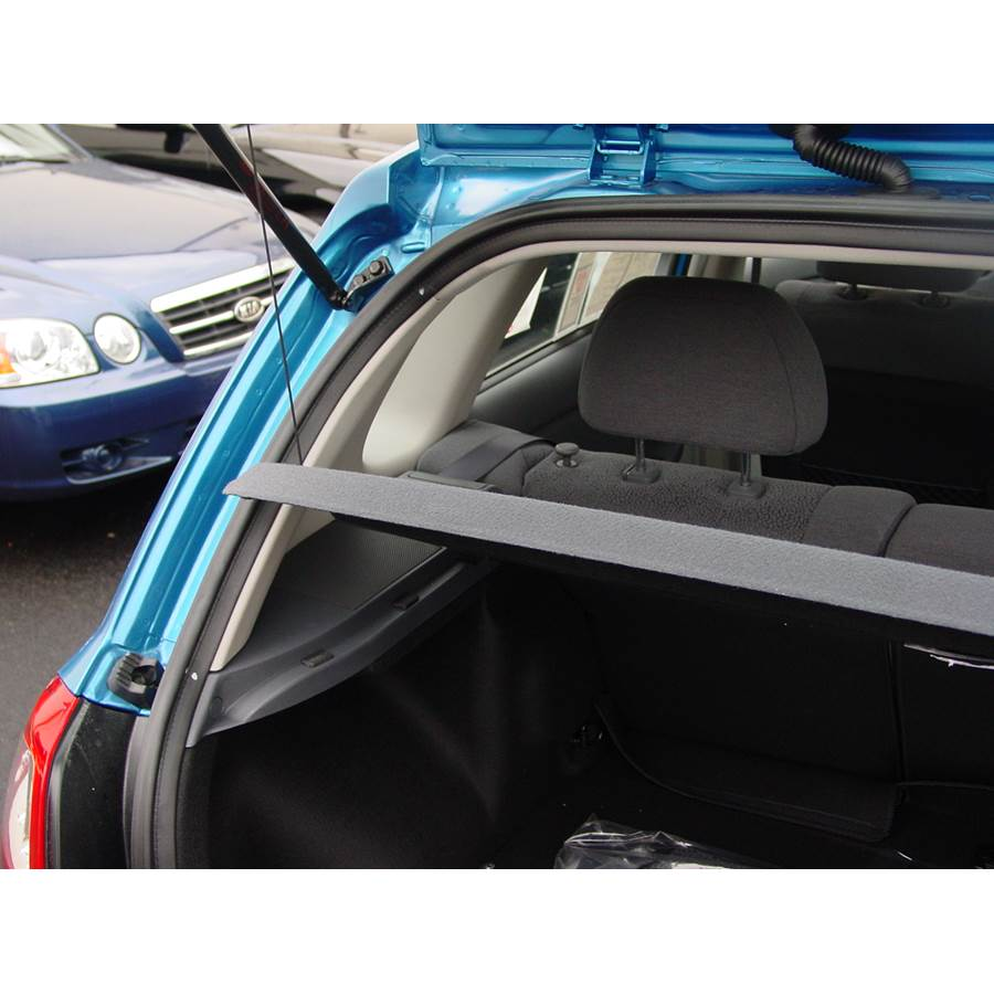 2008 Kia Spectra5 Side panel speaker location