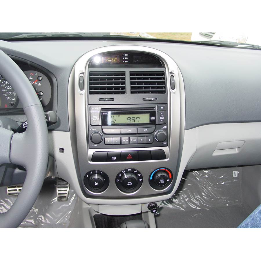 2008 Kia Spectra5 Other factory radio option