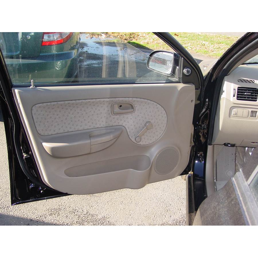 2003 Kia Rio Front door speaker location