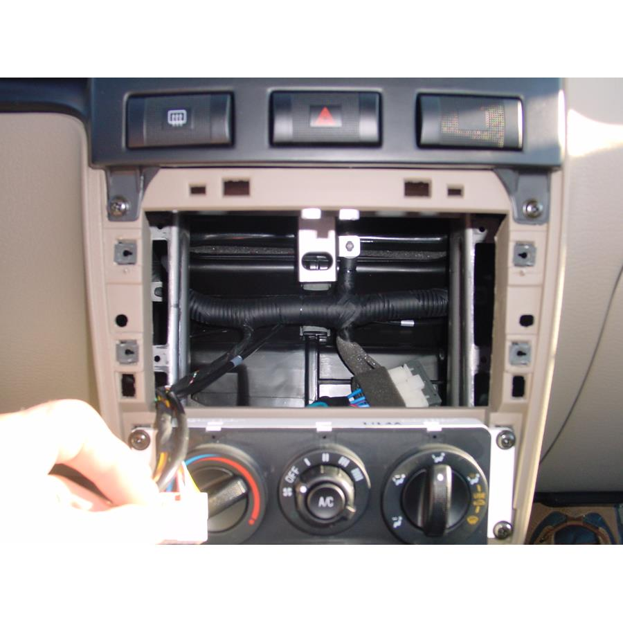 2002 Kia Rio Cinco Factory radio removed