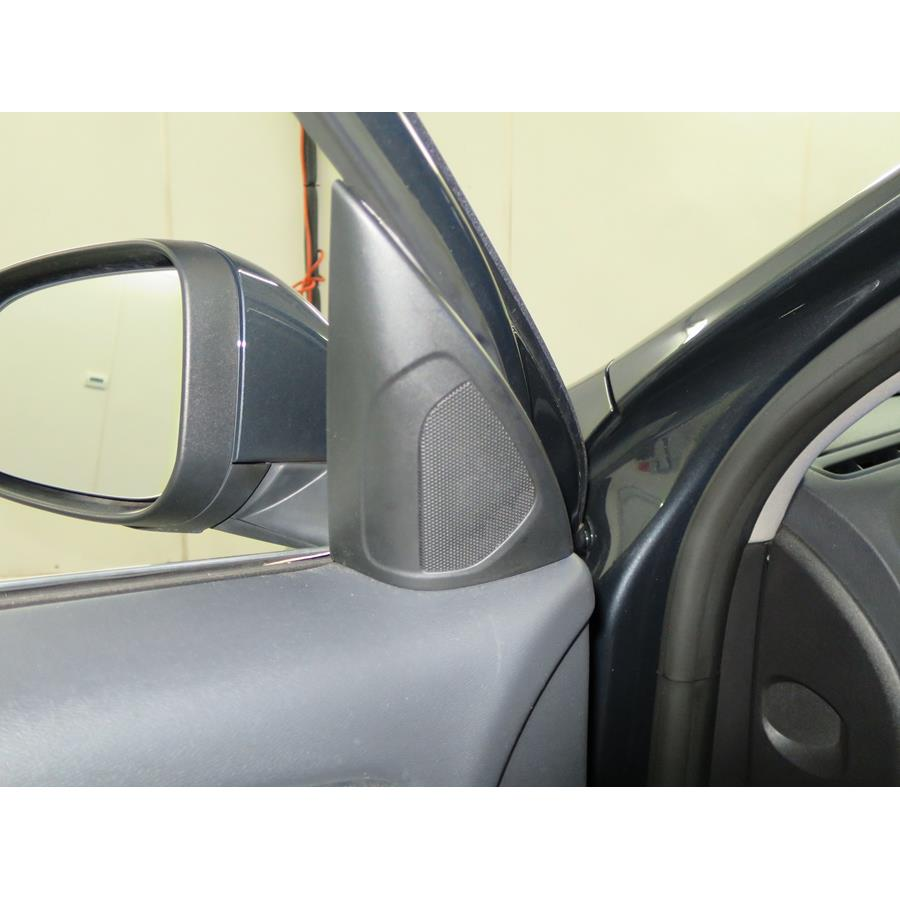 2015 Volvo S60 Front door tweeter location