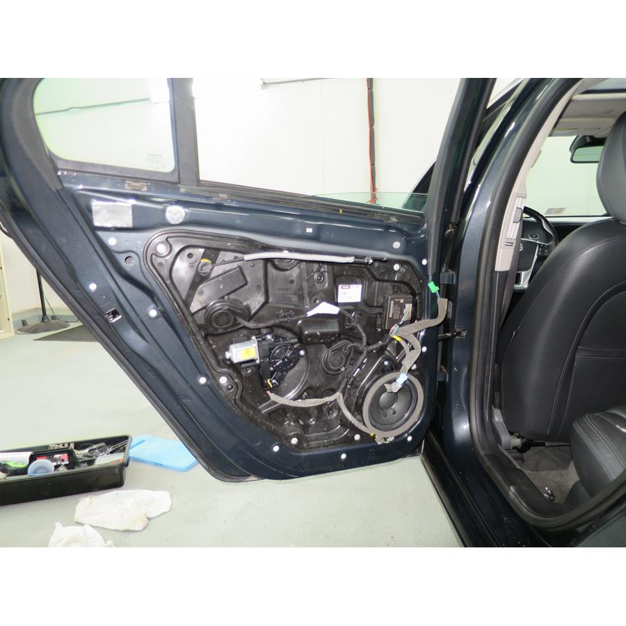 2015 Volvo S60 Rear door woofer