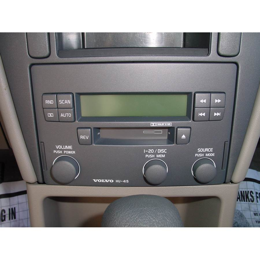 2002 Volvo S40 Factory Radio