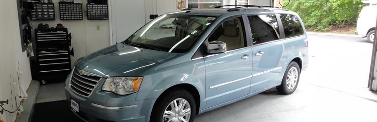 2010 Chrysler Town and Country Exterior