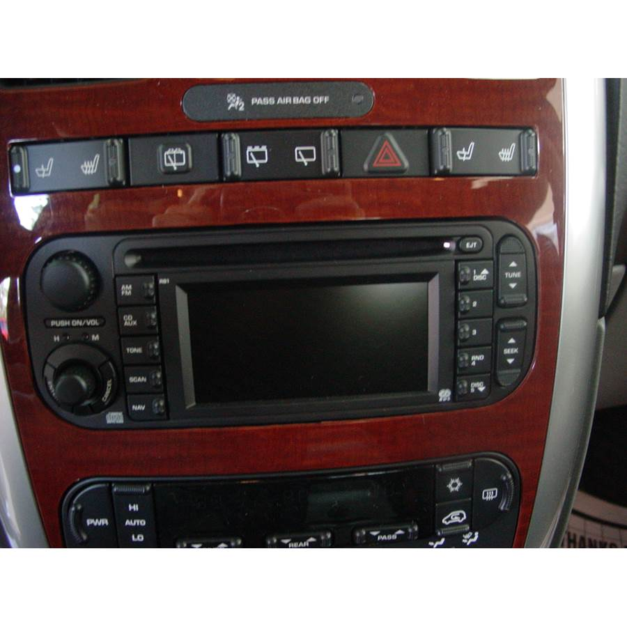 2007 Chrysler Town and Country Factory Radio