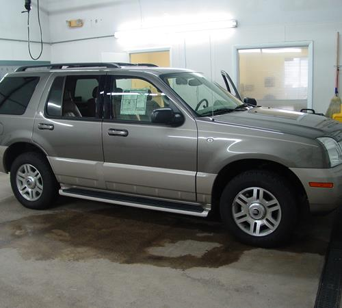 2003 Mercury Mountaineer Exterior