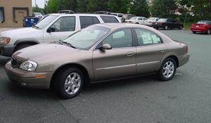 2001 Mercury Sable LS Exterior