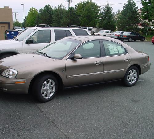 2001 Mercury Sable GS Exterior