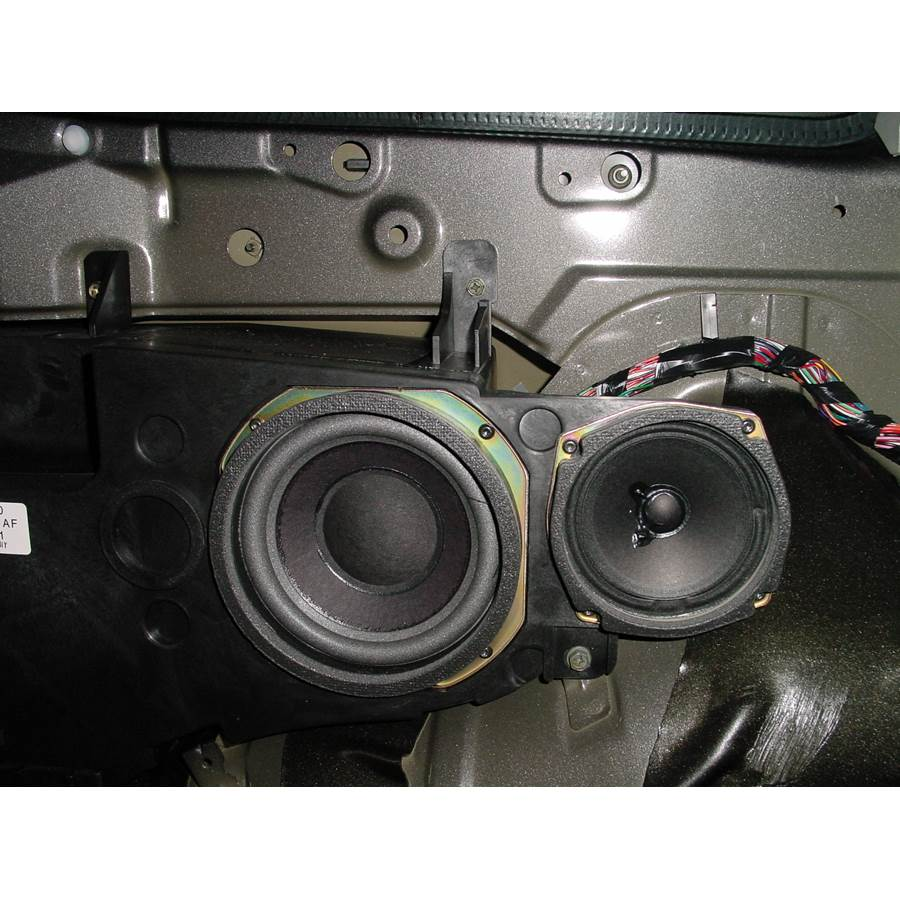 2002 Mercury Villager Mid-rear speaker