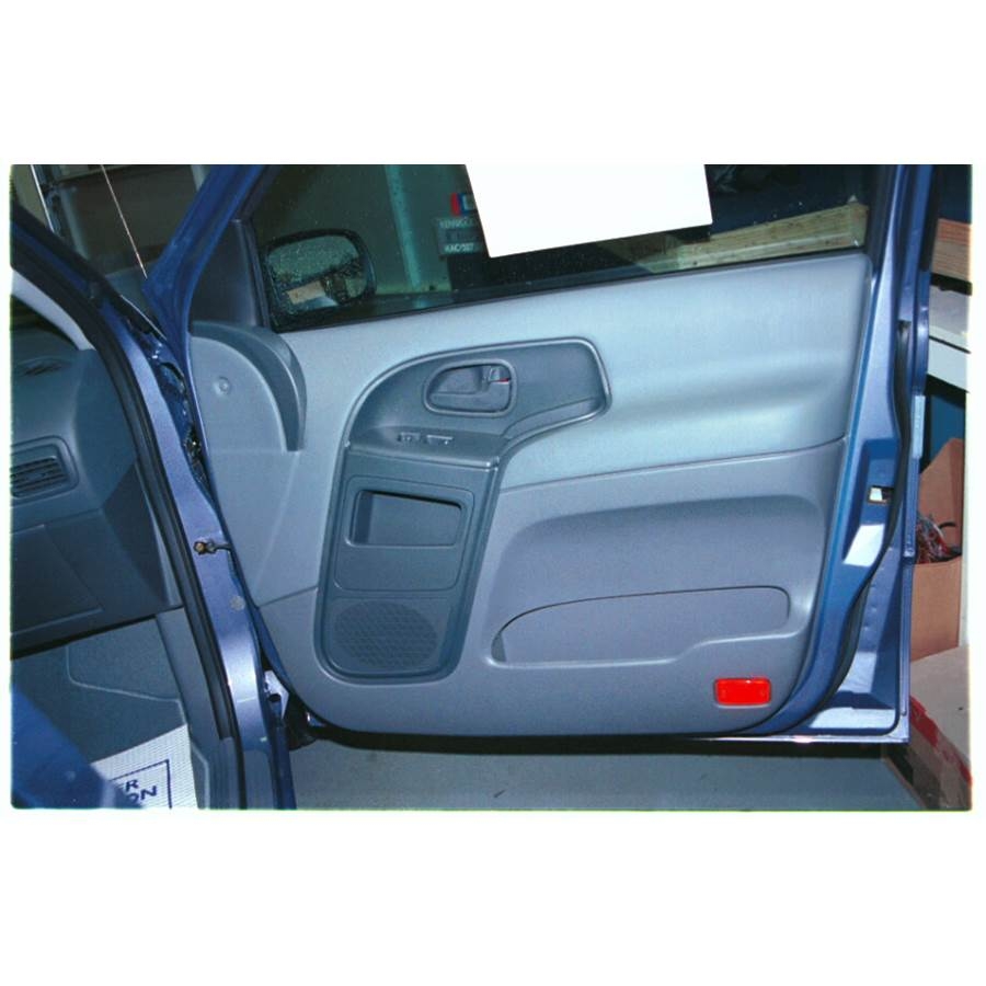 2002 Mercury Villager Front door speaker location