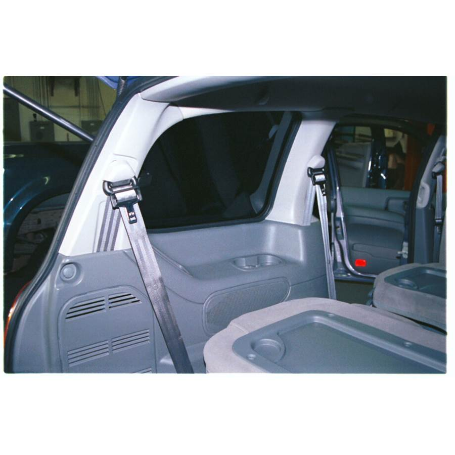 2002 Mercury Villager Mid-rear speaker location