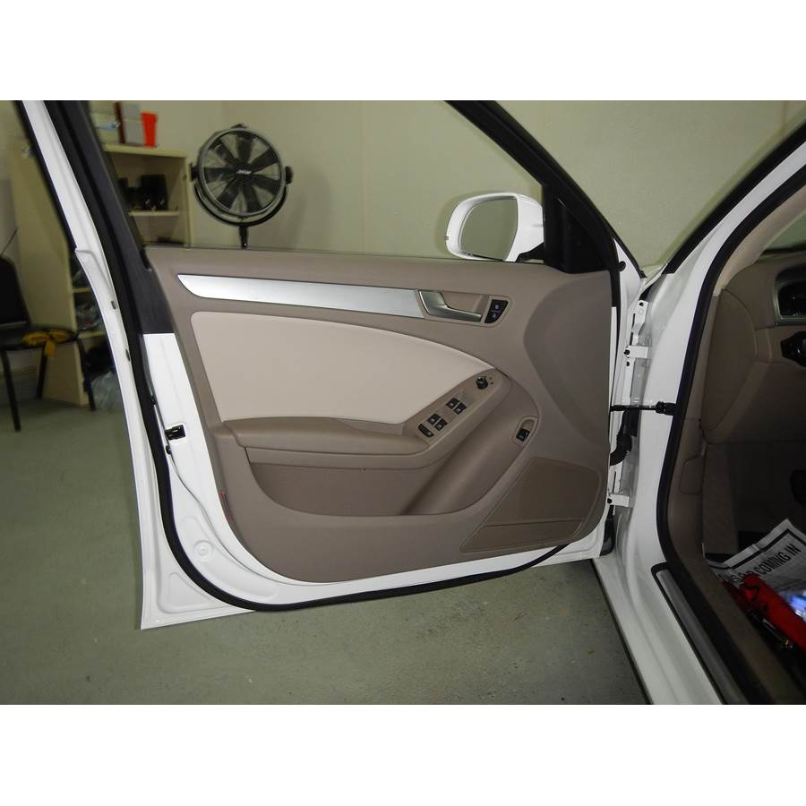 2014 Audi A4 Front door speaker location