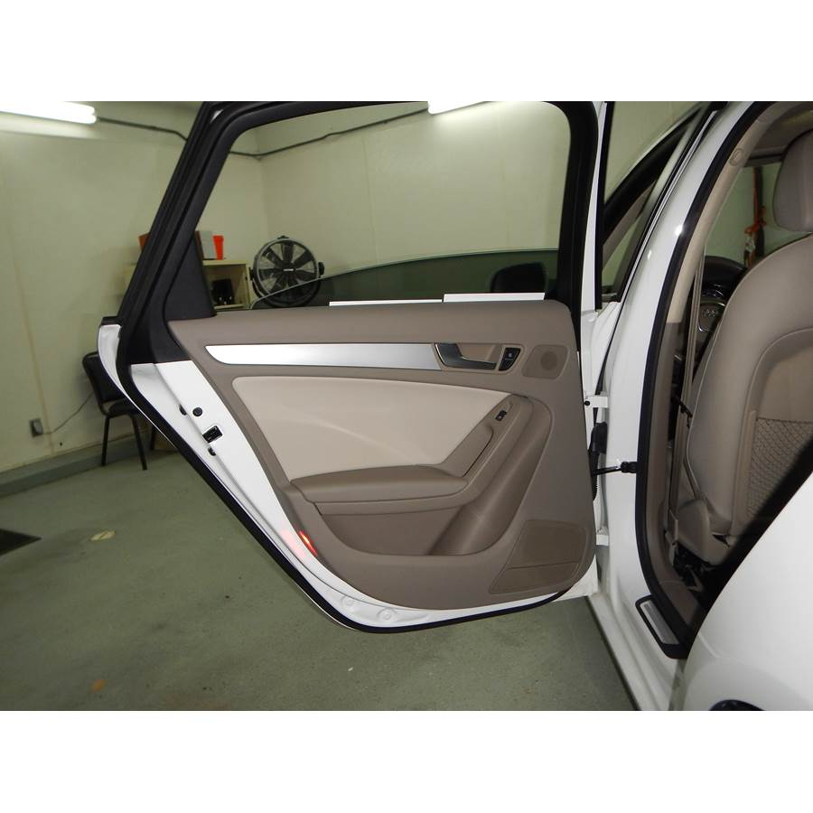 2014 Audi A4 Rear door speaker location