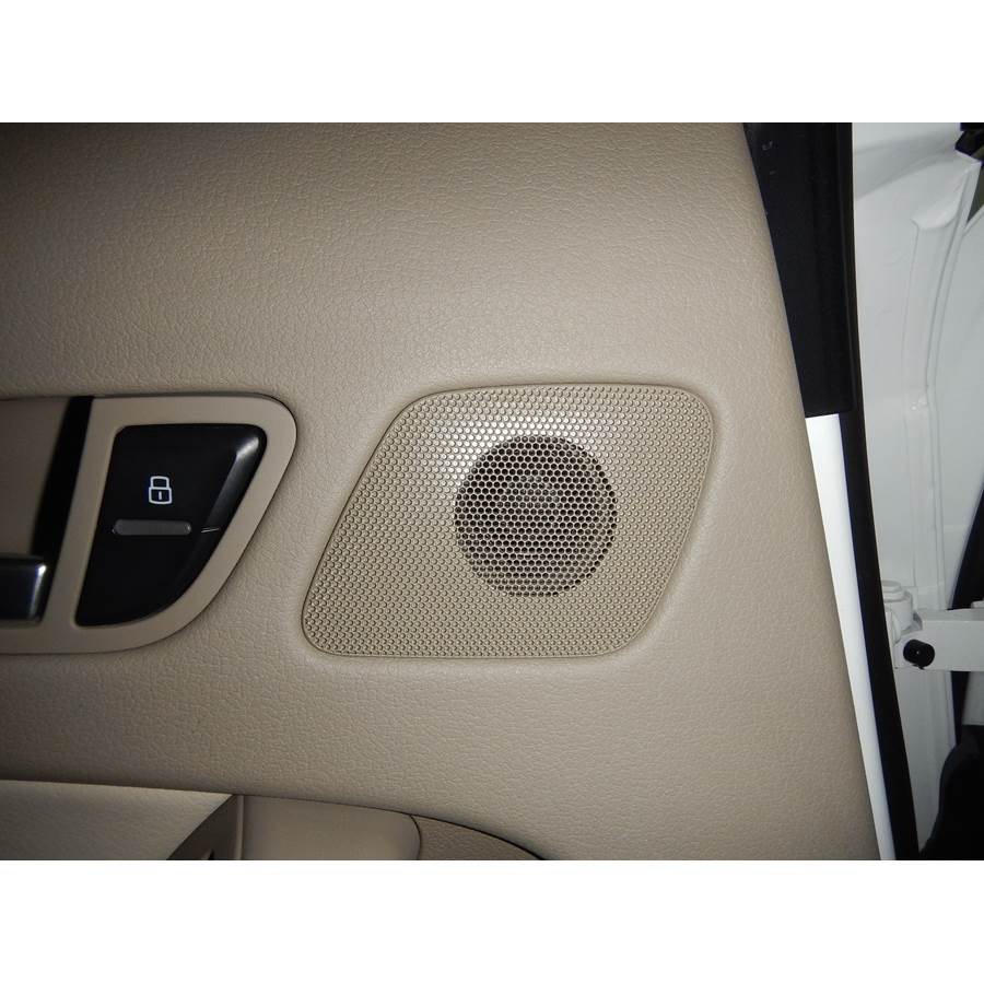 2014 Audi A4 Rear door tweeter location