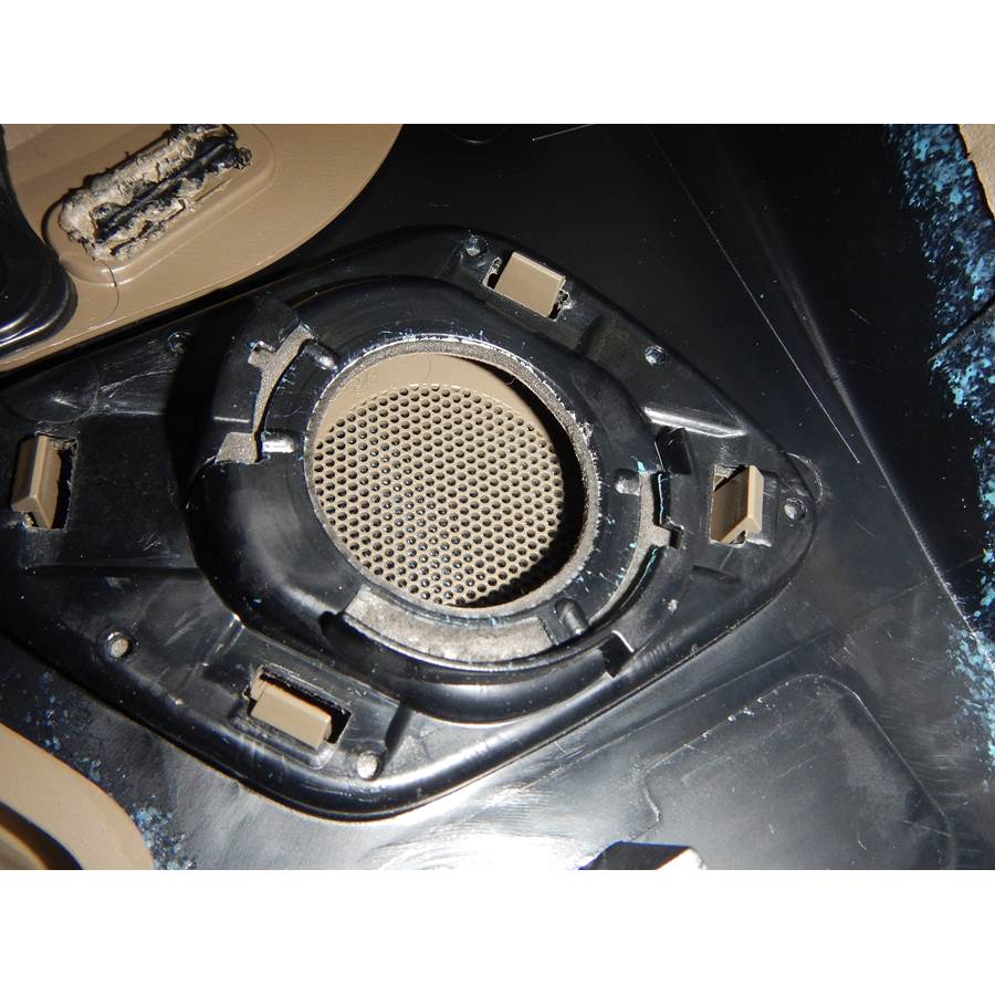2014 Audi A4 Rear door tweeter removed