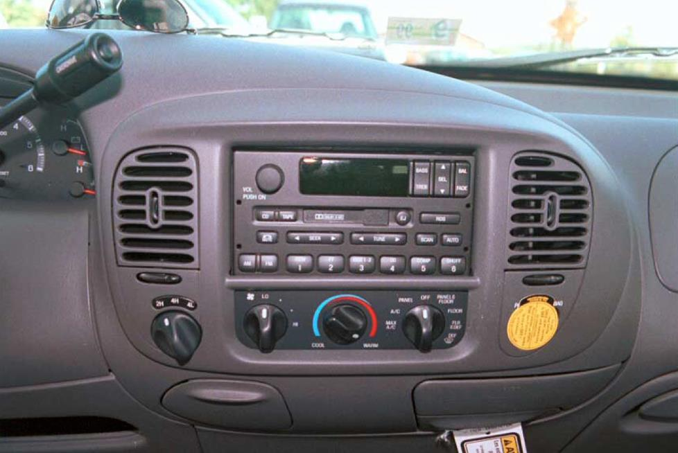 1997 2000 Ford F 150 Car Audio Profile