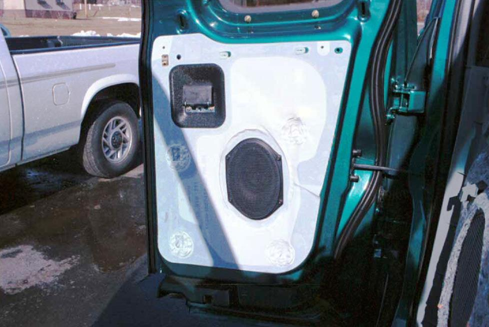 Ford F-150 Super Cab rear door