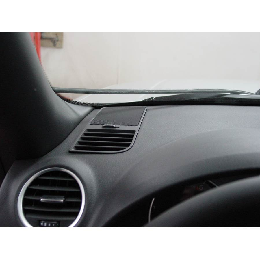 2008 Audi S4 Dash speaker location