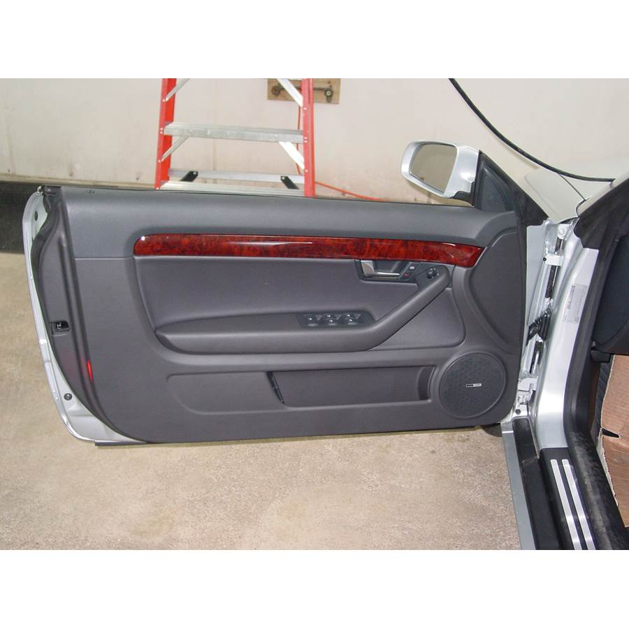 2008 Audi S4 Front door speaker location