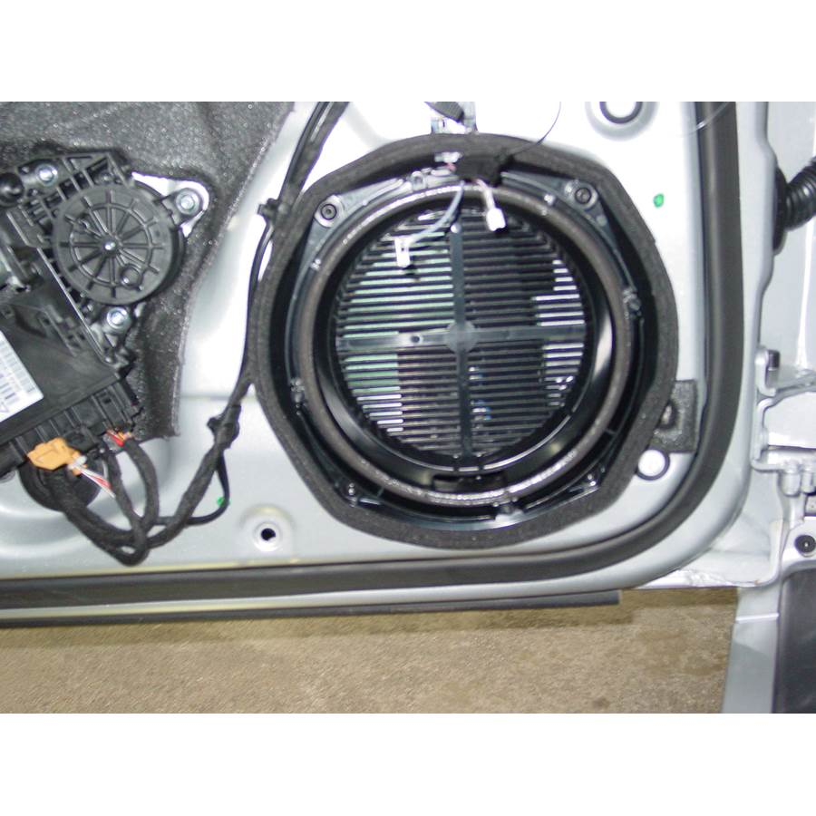 2008 Audi S4 Front door woofer removed