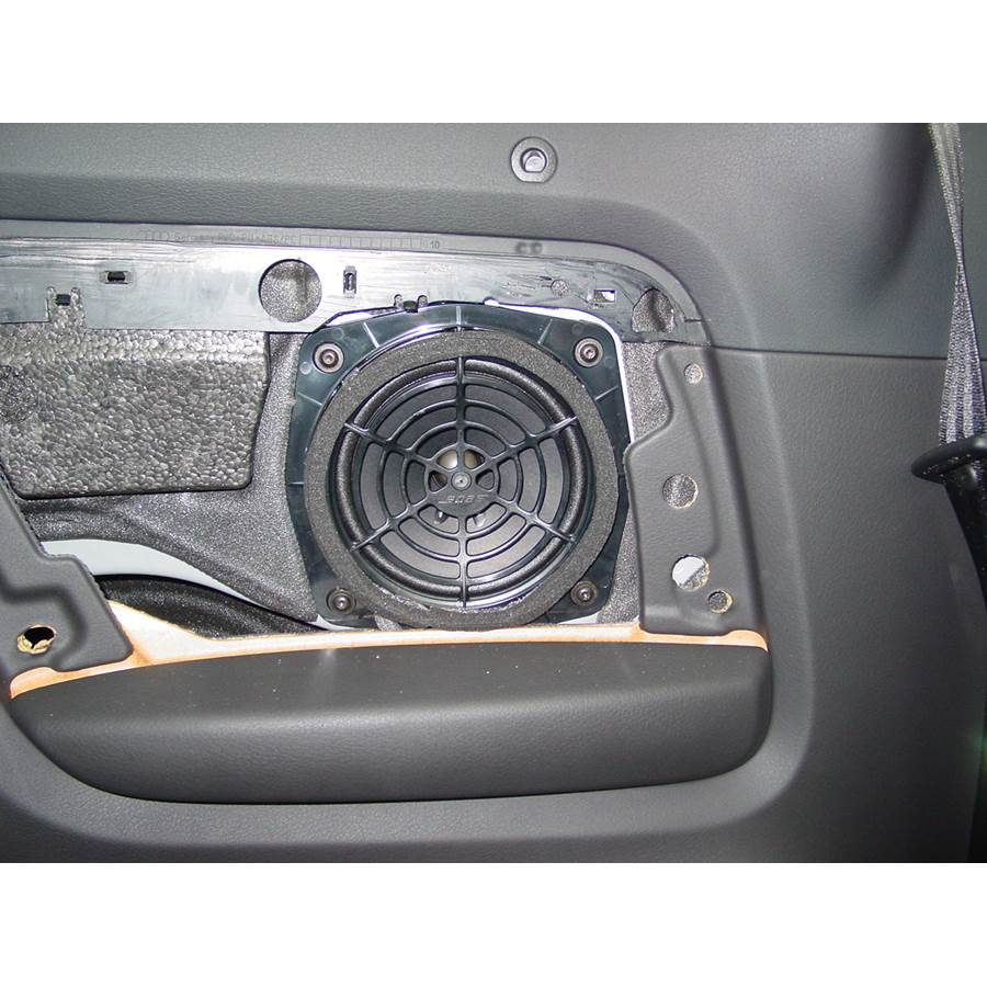 2008 Audi S4 Rear side panel speaker
